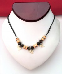 Mako Shark's Tooth Necklace - 3 Teeth - Product Image