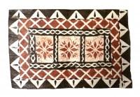 Mat: Fijian Rectangular Design # 3 - Product Image