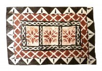 Mat: Fijian Rectangular Design # 3 - Product Image
