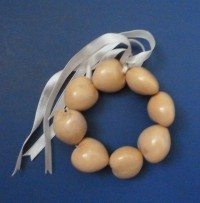 Kukui Nut - Blond Anklet/Bracelet - Rich - Product Image
