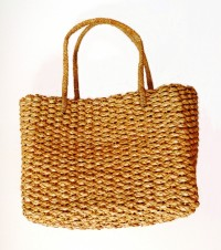 Lauhala Purse with Handles - Product Image