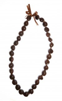 Kukui Nut: Brown lei - Product Image
