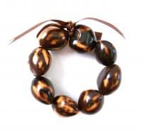 Kukui Nut: Dark Tiger Anklet/Bracelet - Product Image