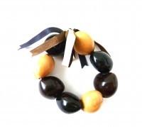 Kukui Nut: Tri-Color Anklet/Bracelet - Product Image