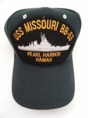 USS Missouri BB63 Pearl Harbor, Hawaii - Product Image