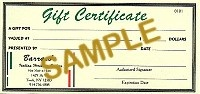 $5 Gift Certificate - Product Image
