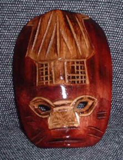 War Mask: Mako Wood Shack Mask - Product Image