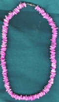 Necklace: Pink Puka Shell - Product Image