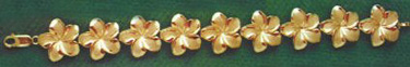 BRACELET LINK: Plumeria - Product Image