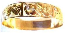 BANGLE BRACELET: Spring Blossom Design - Product Image