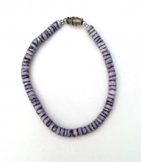 Bracelet: Blue Puka Shell - Product Image