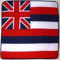 Pillow Covering: Hawaiian Flag - Product Image