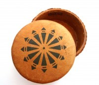 Jewelry Box: Round Tongan Design - Product Image