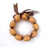 Kukui Nut: Light Tiger Anklet/Bracelet - Product Image