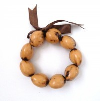 Kukui Nut: Light Tiger Anklet/Bracelet - Product Image