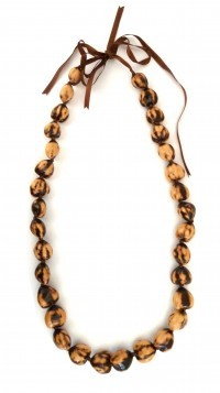 Kukui Nut: Tiger Lei - Product Image