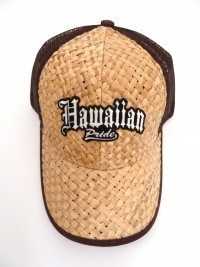Lauhala Baseball Cap with Hawaiian Pride - Limited Special Edition - Product Image