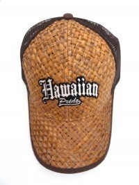 Lauhala Baseball Cap With Hawaiian Pride Limited Special