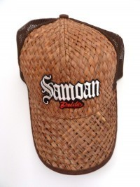 Lauhala Baseball Cap with Samoan Pride - Limited Special Edition - Product Image