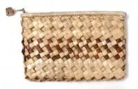 "Lauhala Clutch Purse - Single Stripe 7""x5"" - Product Image"