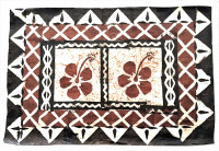 Mat: Fijian Rectangular Design # 11 - Product Image