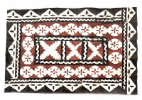Mat: Fijian Rectangular Design # 6 - Product Image