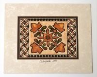 Mat: Hawaiian Kukui Nut - Style 1b - Product Image