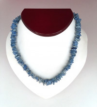 Necklace: Blue Puka Shell - Product Image