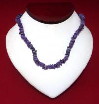 Necklace: Purple Puka Shell - Product Image