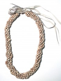 Seed Lei: Job's Tears - Choker - Model 2 - Product Image