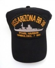 USS Arizona BB39 Pearl Harbor Dec. 7, 1941 - Product Image