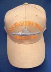 USS Missouri BB63 Honolulu, Hawaii - Product Image
