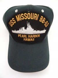 USS Missouri BB63 Pearl Harbor, Hawaii - Product Image