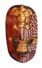 Wooden War Masks